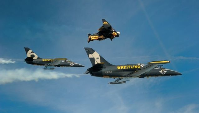 Jetman and the Breitling Jet Team