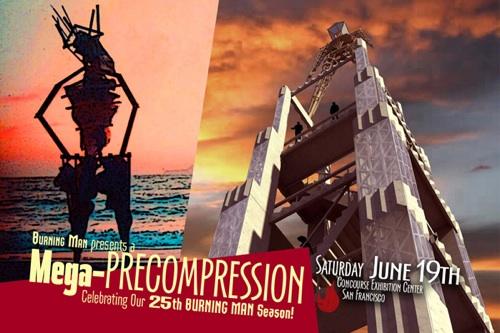 Burning Man Mega-Precompression