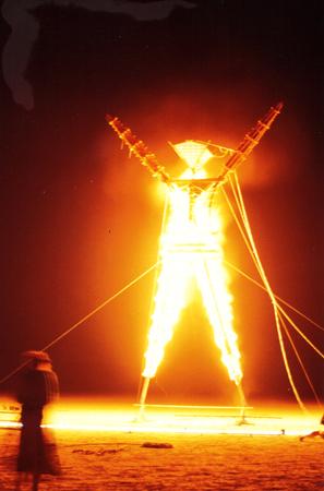 Burning Man 1990 Burn