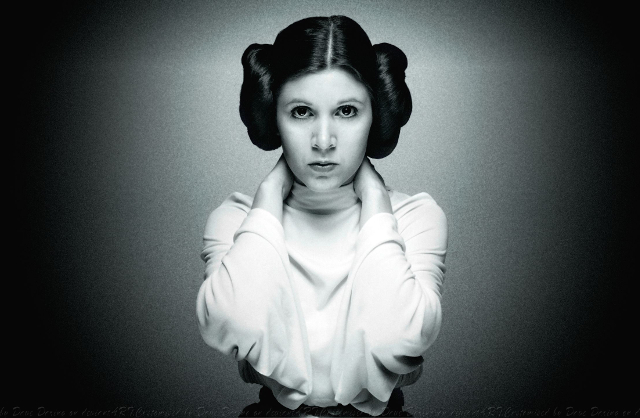 carrie fisher as princess