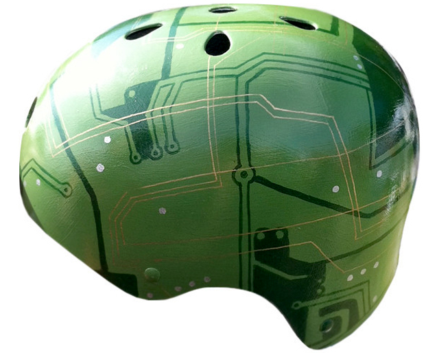 Circuit Board by Belle Helmets