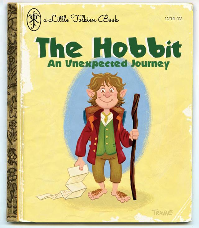 The Hobbit as a Golden Book