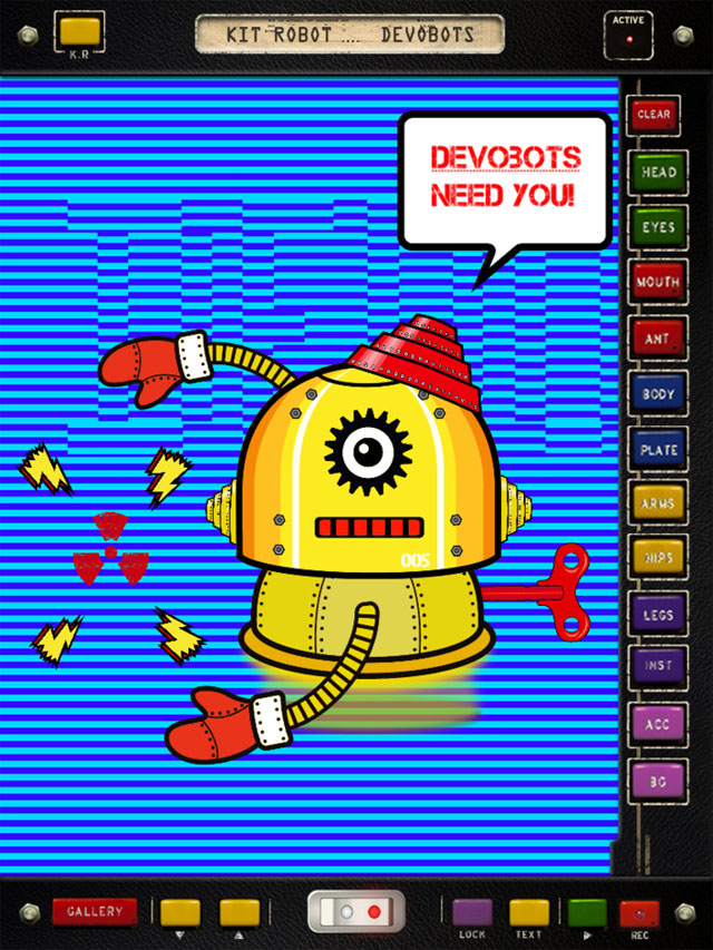 DEVOBOTS by Kit Robot