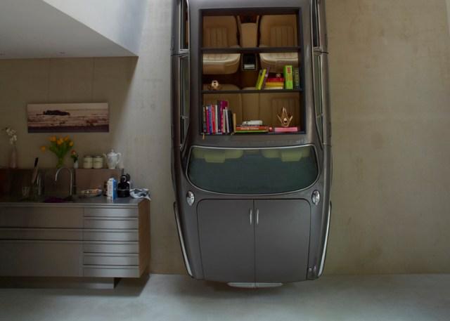 Car Bookshelf