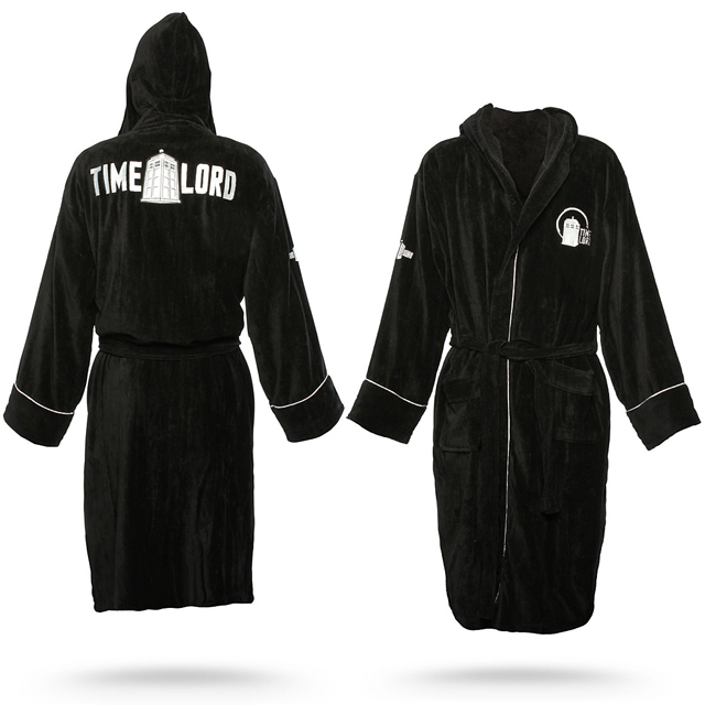 Doctor Who Themed Bathrobe - Time Lord