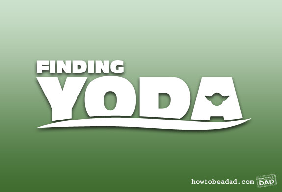 Finding Yoda by HowToBeADad.com