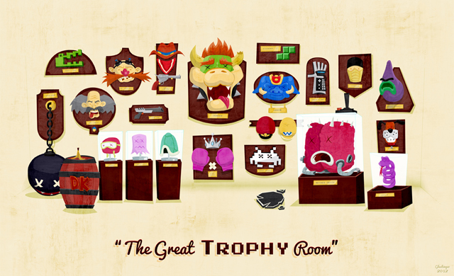 The Great Trophy Room by Ian Glaubinger