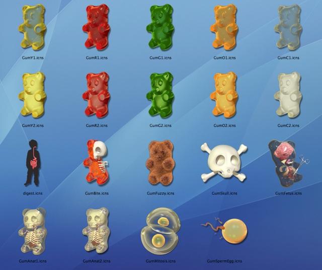 gummi-bear-icons