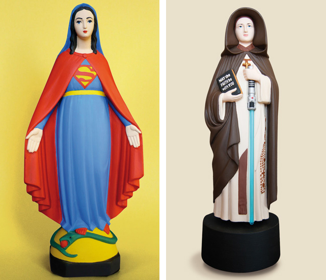 Super Mary and Holy Force by Soasig Chamaillard