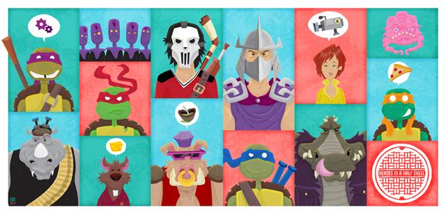 Heroes In A Half Shell by Ian Glaubinger