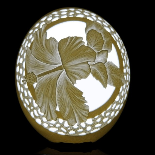 Eggshell Carving by Brian Baity
