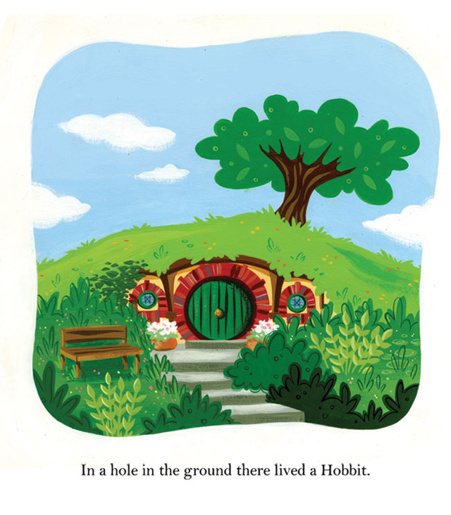 The Hobbit as a Golden Book