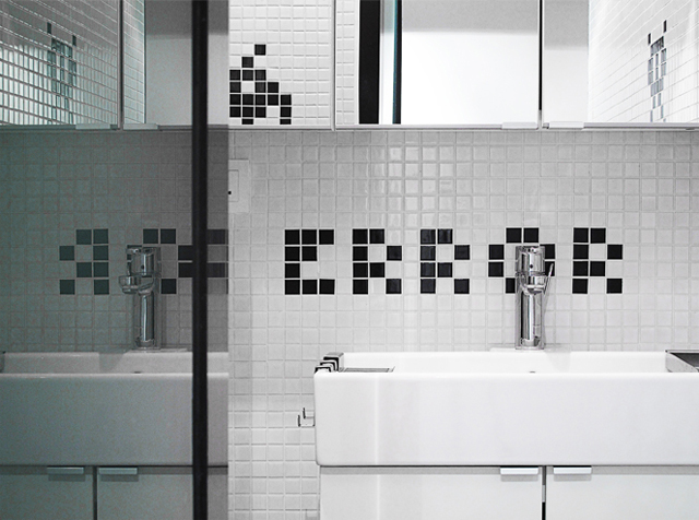 Space Invaders Themed Hong Kong Apartment by OneByNine