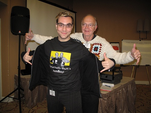 Jacob Appelbaum & Donald Knuth