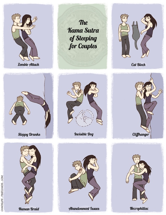 The Kama Sutra of Sleeping