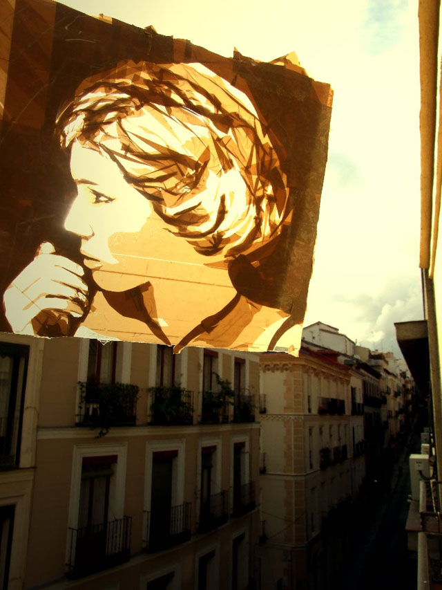 Incredible Packing Tape Art by Max Zorn