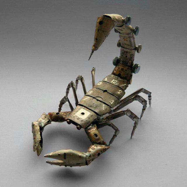 A Mechanical Scorpion by Justin Gates