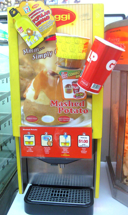 Maggi Mashed Potato Dispenser