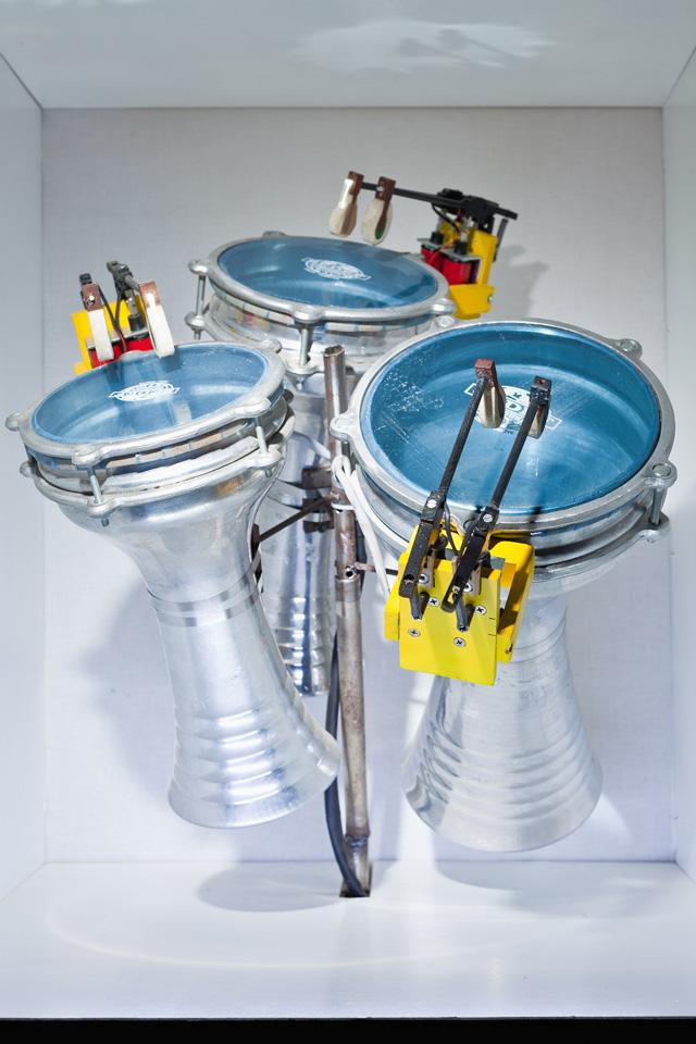 MR 808 Electromechanical drum machine