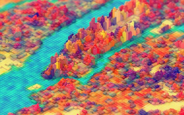 Lego New York by JR Schmidt
