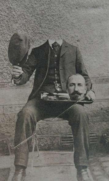 Victorian headless portraits