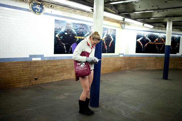No Pants Subway Ride 2013 by Improv Everywhere