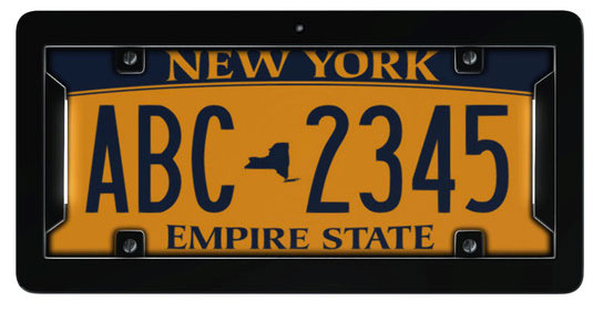noPhoto electronic license plate frame