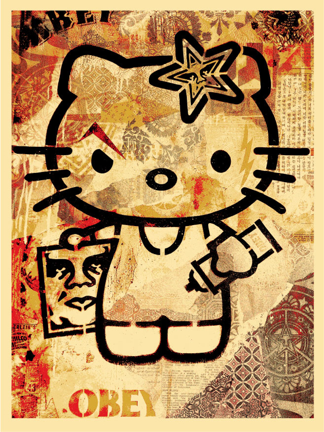 Obey Hello Kitty