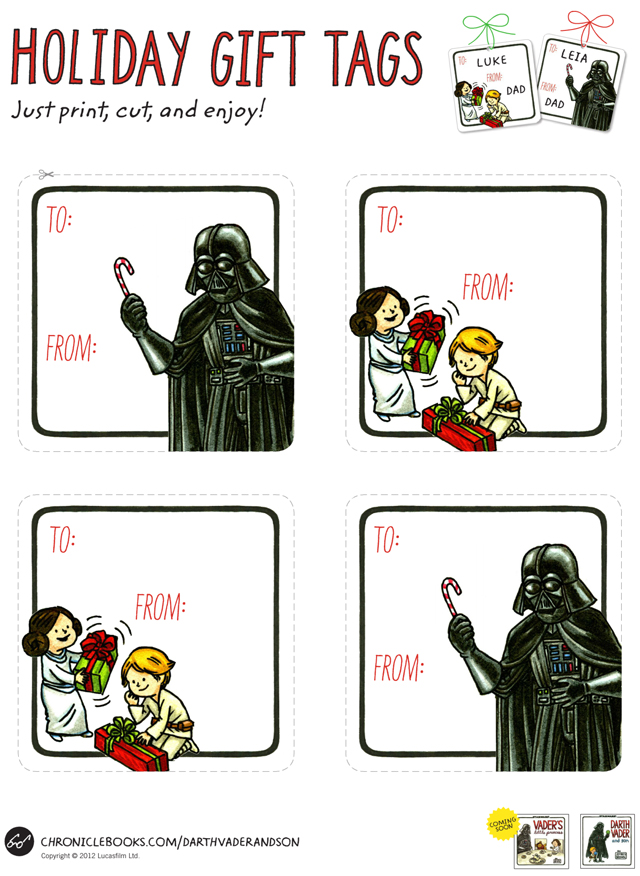 Season's Greeting from the Vaders Poster by Jeffrey Brown