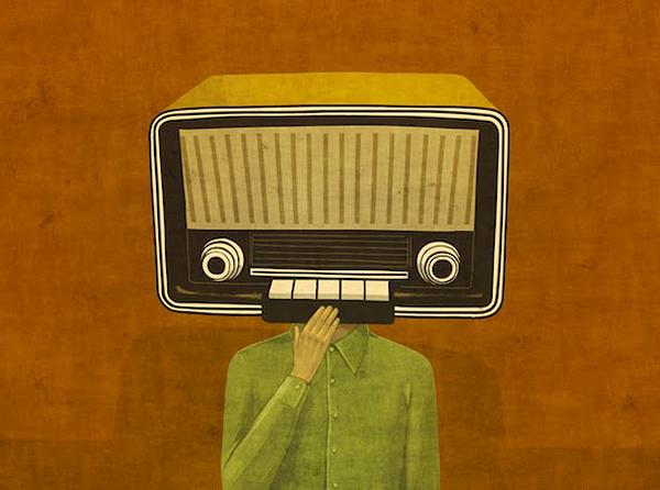 Face/Radio #02 by Toni Demuro