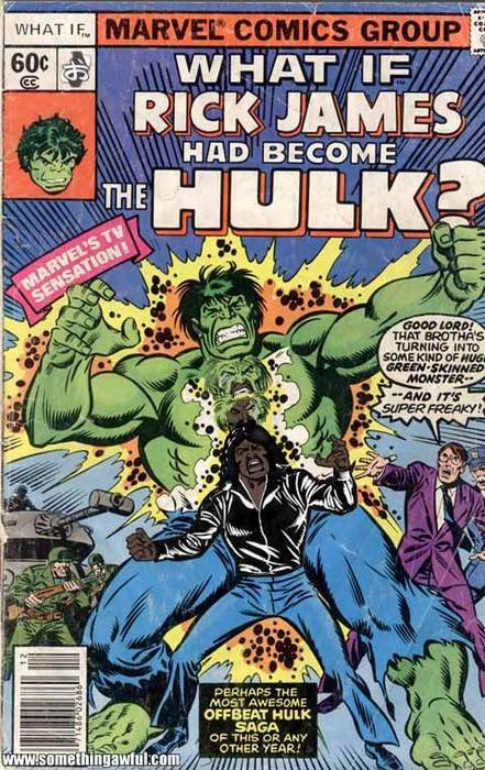 What If Rick James Had Become The Hulk