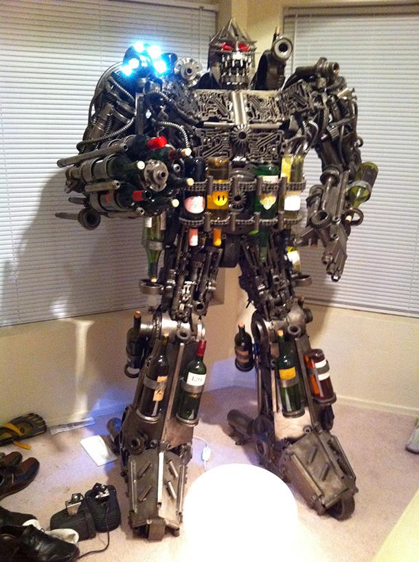Robot Wine Rack