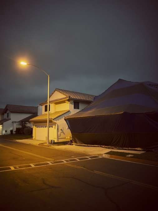 Tented Homes by Robert Benson