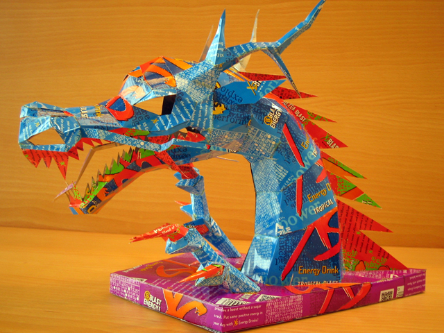 A Dragon by Makaon