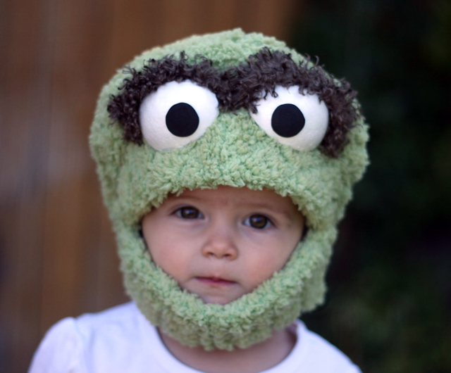 Oscar the Grouch Mask by JustZipity