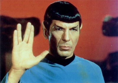 Spock Vulcan Salute