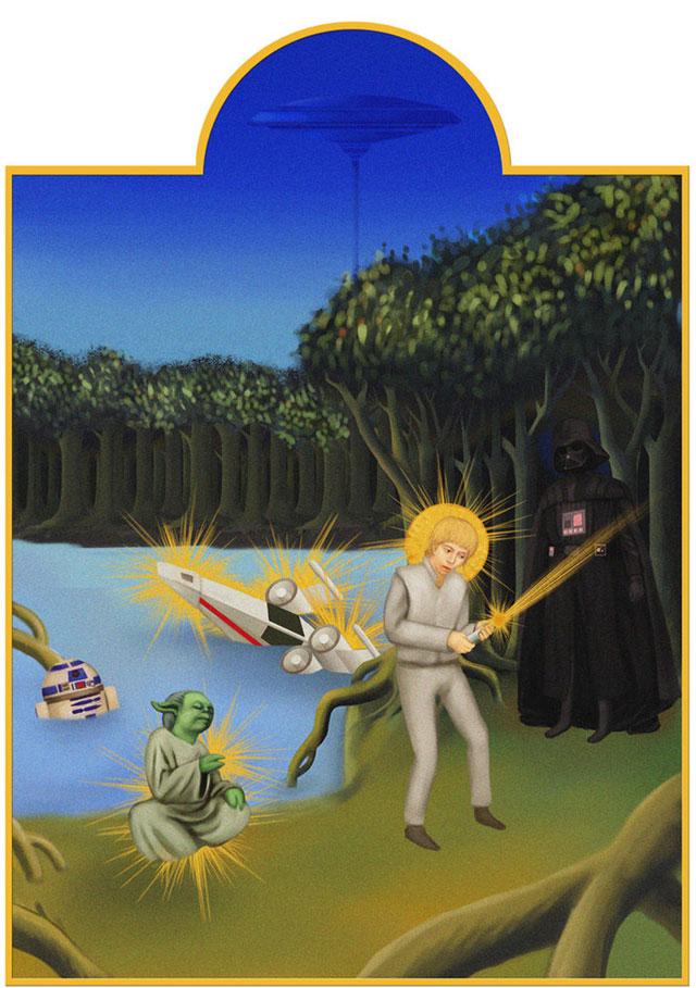 Star Wars medieval art