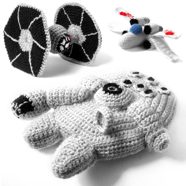 Amigurumi Star Wars Crochet Patterns : Star wars amigurumi a series of crochet patterns by ana yogui
