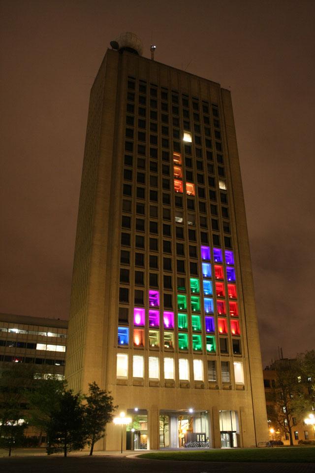 Tetris Building Hack at MIT