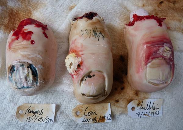 Fungus Toe Nail Cookies