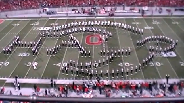 The Ohio State University Marching Band Video Game Tribute (Halo)