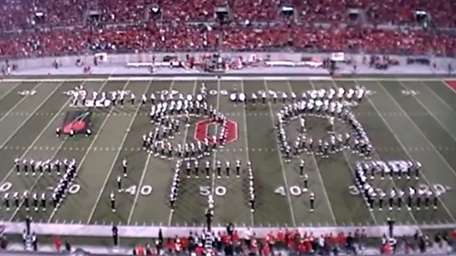 The Ohio State University Marching Band Video Game Tribute (Pac-Man)