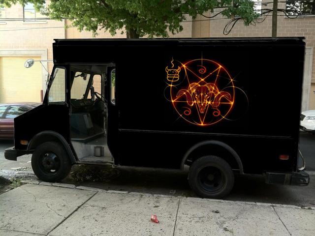 666 Burger truck