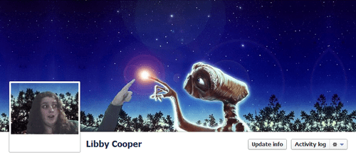 ET Facebook Cover by Libby Cooper