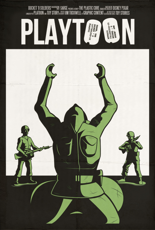 Playtoon - Toy Stories by Jim Tuckwell