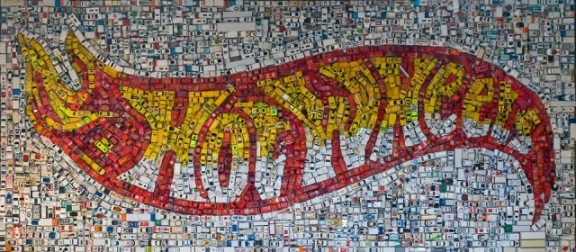 Sculptural Mosaics by Kevin Champeny