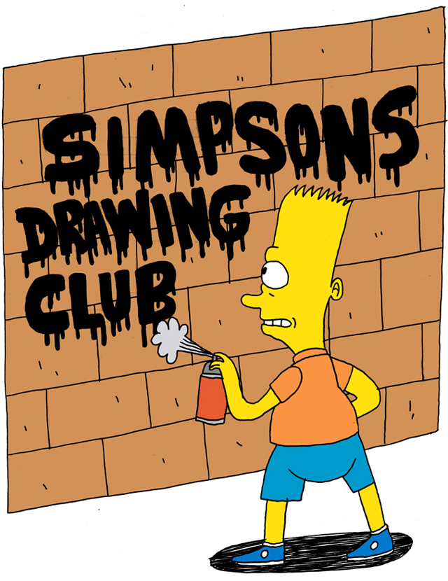 Simpsons Drawing Club by Jack Teagle