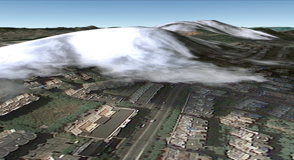 Glichy Images from Google Earth