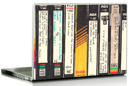 VHS Laptop Skins