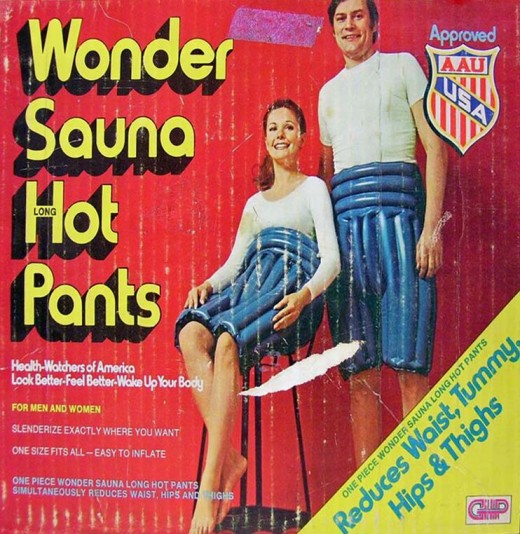 Wonder Sauna Long Hot Pants